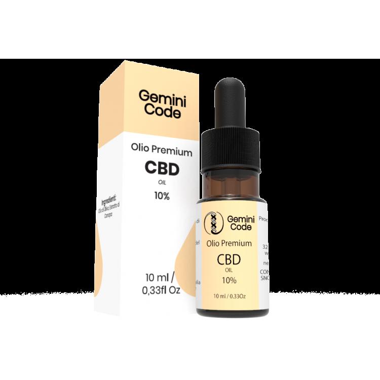 Gemini Code Olio CDB 10%