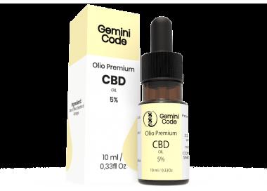 Gemini Code olio CBD 5%